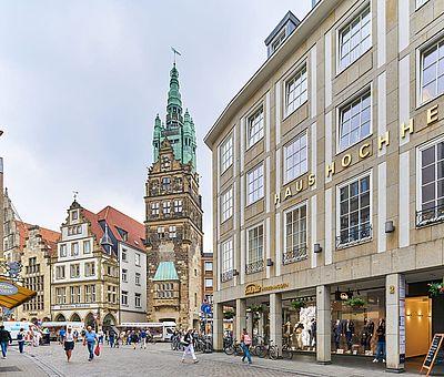 Die Innenstadt in Münster