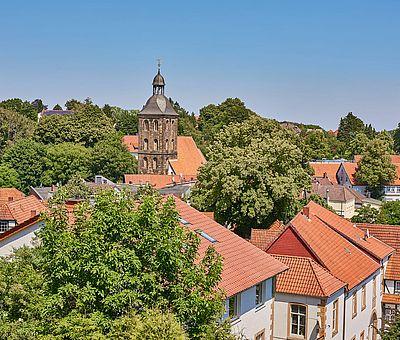 Über den Dächern von Tecklenburg