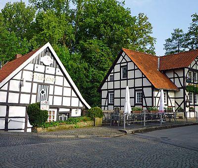 Die alte Wassermühle in Ladbergen mit Rolinck's alter Mühle