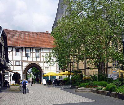 Das Torhaus Römer in der Lengericher Innenstadt
