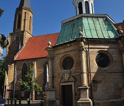 Die Kapelle in der Innenstadt von Telgte