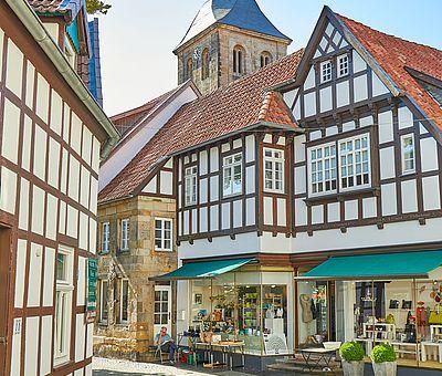 Teil der Innenstadt in Tecklenburg
