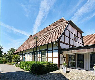 Malerisches Fachwerkhaus in Telgte
